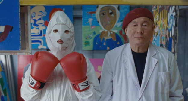 Aquiles y la Tortuga, de Takeshi Kitano