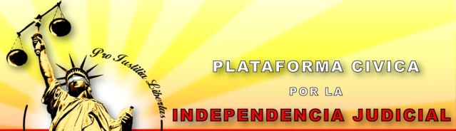 """independencia judicial"""