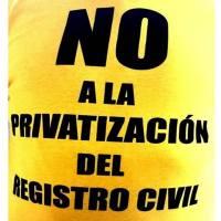 """""""registro civil; carta abierta a la ciudadanía"""""""